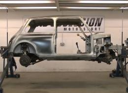 Binky项目-第十二期-奥斯汀Mini GT4--打造排气系统
