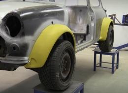 Binky项目-第十四期-奥斯汀Mini GT4--轮拱解决方案