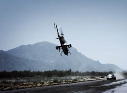 镜头抓拍到的直升机坠毁画面—Top Gear韩国—Top Gear