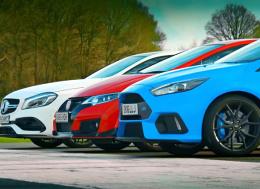 Rory Reid和福特福克斯RS—Top Gear—第23集