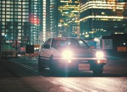 丰田 AE86 大片