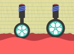 车轮是如何工作的
