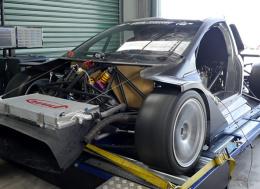800马力的R35驱动的管架爬坡赛车