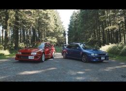 90年代的两款拉力赛车偶像 - 22B vs TME