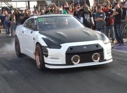 他们做到了 世界上首辆6秒水平的GT-R