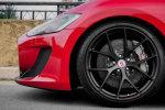 红色涂装玛莎拉蒂轮圈改装