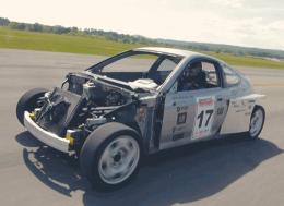 换装了斯巴鲁SVX引擎的本田Insight车评——史上最吓人的本田Insight