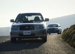 买得起的好车:斯巴鲁Forester STI 和三菱Evo Wagon