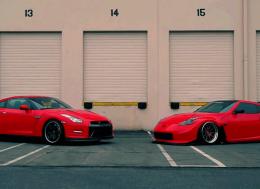 """""""仇人""""相见?分外眼红——GTR和370Z"""