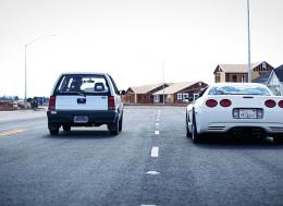 Car Bros的金卡纳赛车一个病毒车动作片